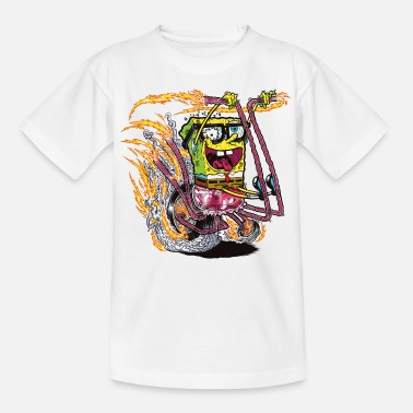 Mens' Shirt SpongeBob on crazy wheels - Tenårings T-skjorte