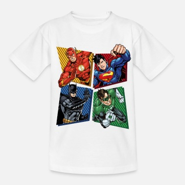 Für Kinder DC Comics Justice League Superhelden - Teenager T-Shirt