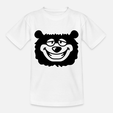 Doof Bär bear_head - Teenager T-Shirt