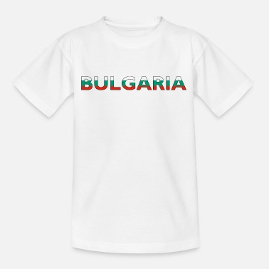 bulgarije - Teenager T-shirt