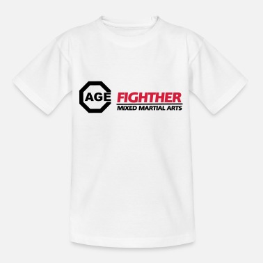 Cage Cage Fighter - MMA - Teenager T-Shirt