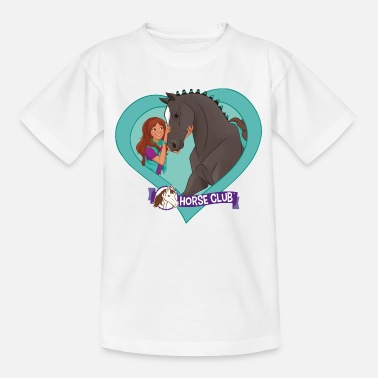 Lisa Schleich Horse Club Lisa & Storm heart motif - Teenage T-Shirt