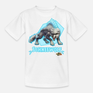 Schleich Eldrador Snow Wolf Pose - Teenage T-Shirt