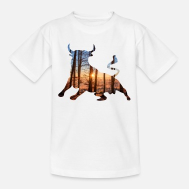 Stier Stier - Teenager T-shirt
