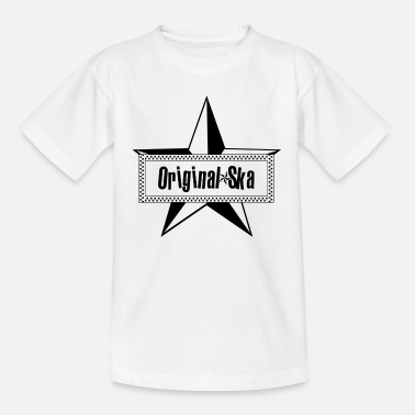 Skapunk Originele Ska Star Music Vintage Skapunk Punk Retro - Teenager T-shirt