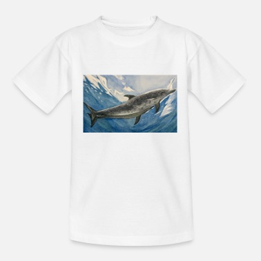 Dolphin under the water - Teenage T-Shirt