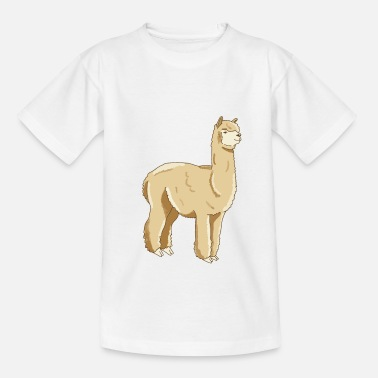 Sweet alpaca design - Teenage T-Shirt
