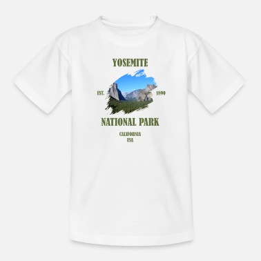 National Parc national de Yosemite California USA - T-shirt Ado
