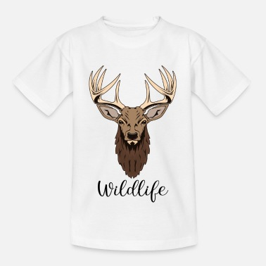 Wildlife Wildlife herten - Teenager T-shirt