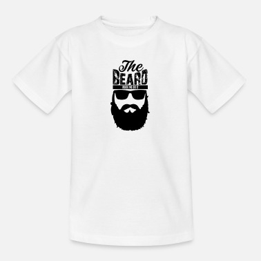 7 Beard Black Design - Teinien t-paita