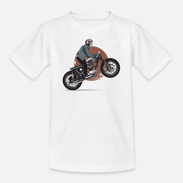 Moto skeleton - T-shirt Ado