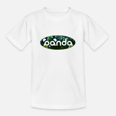 Dschungelpanda - Teenager T-Shirt