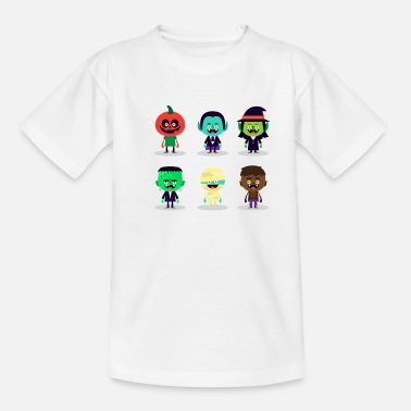 Halloween cute halloween characters - Teenager T-Shirt