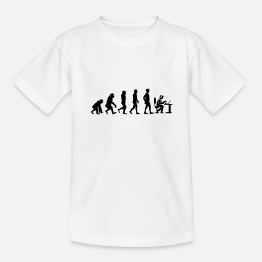 Gamer Evolution to the Gamer Gift Idea Internet - Teenage T-Shirt