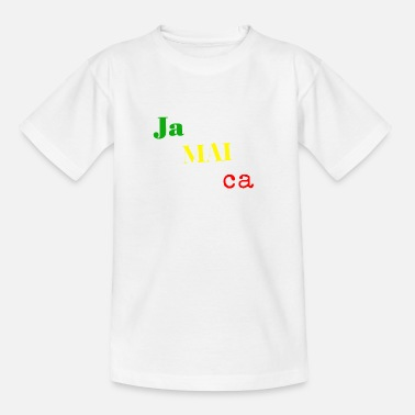 Jamaica jamaica - Teenage T-Shirt