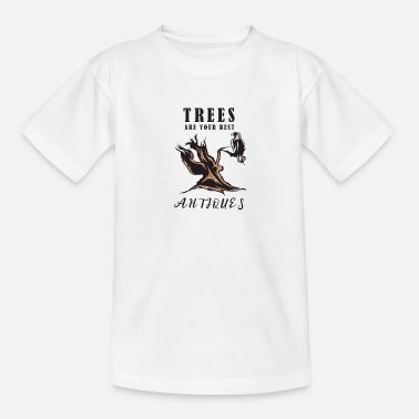 Tree trees antique - Teenage T-Shirt