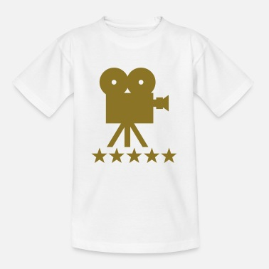 Hollywood cine camera deluxe hollywood - Teenager T-shirt
