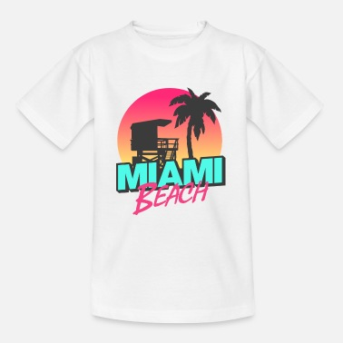 Voyage Miami Beach - T-shirt Ado