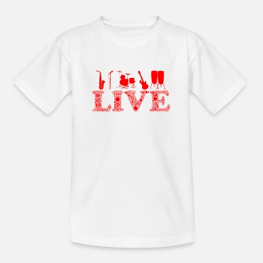 instrumental live - Teenager T-Shirt