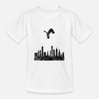 Free Running Parkour Gift Le parcours Free Running Backflip - Teenager T-shirt