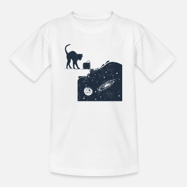Cats And Dogs Collection Universe Cat - Teenage T-Shirt