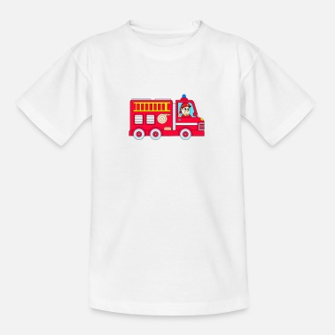 Fire Fire Engine - Teenage T-Shirt