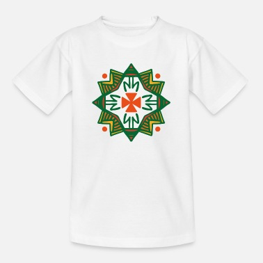 Rune symbol gave ornament etnisk ånd kunst - T-shirt teenager