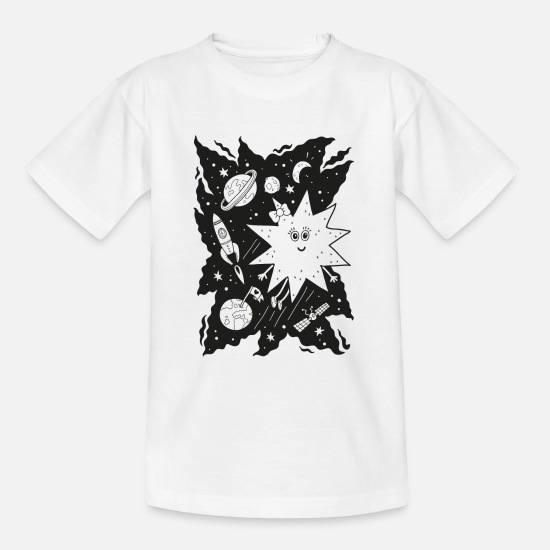 Stella T-shirts - Stella star for coloring - Teenager T-shirt wit