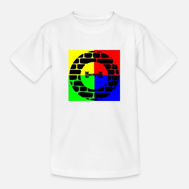 Theta Theta 4Farben - Teenager T-Shirt