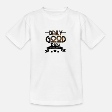 Daily Daily days - Teenage T-Shirt