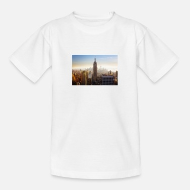 empire state building 1081929 1920 - Teenage T-Shirt