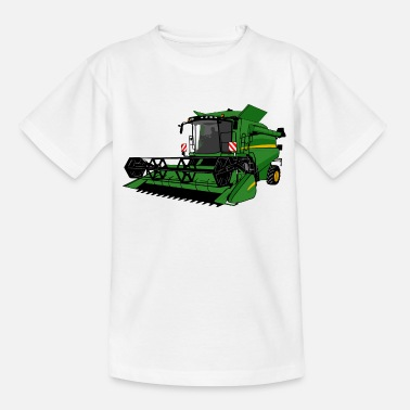 Back Yard Combine harvester - Combine harvester - Teenage T-Shirt
