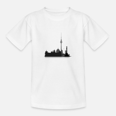 Cityscape Cityscape Berlin - Teenage T-Shirt