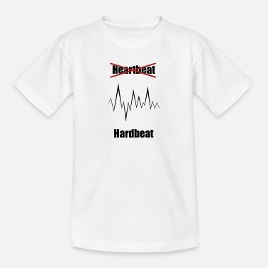 Deadmau5 Hardbeat Heartbeat Hardstyle Music Technomusic - Maglietta per teenager