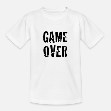 Game Over game over - T-shirt teenager