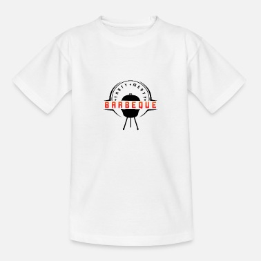 Barbeque Tasty Meaty Barbeque - T-shirt teenager