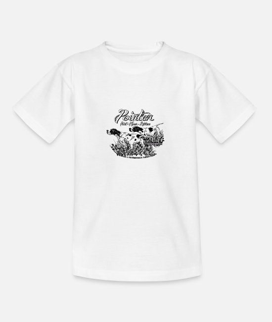 Pointer T-Shirts - two_pointers_black_and_white - Teenage T-Shirt white