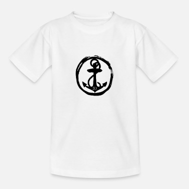 Sea Sea - anchor anchor - sea - sea - Teenage T-Shirt