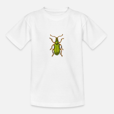 A green beetle - Teenage T-Shirt