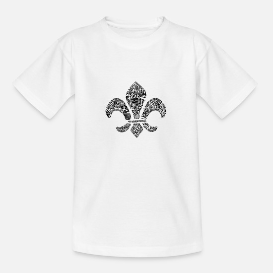 Scout T-shirts - Only Scout Words - T-shirt tonåring vit