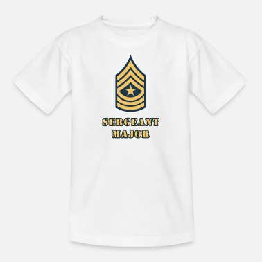 Sergeant Major - Teenage T-Shirt