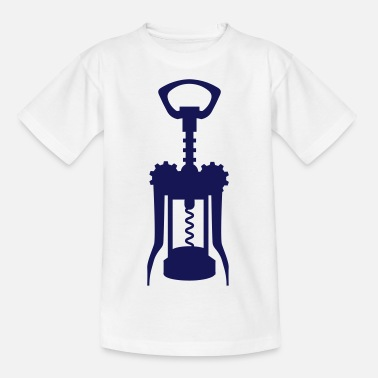 Uncork A corkscrew - Teenage T-Shirt