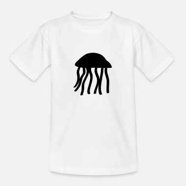 Sjø Jellyfish - Teenage T-Shirt
