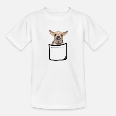 chihuahua in zak - Teenager T-shirt