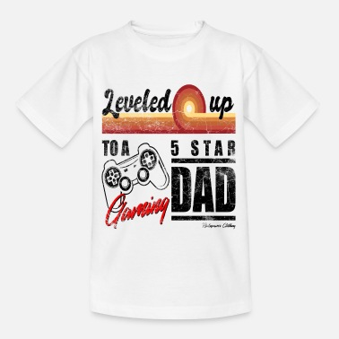 Expectant Dad Gift Gamer Dad - Teenage T-Shirt