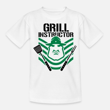 Grill Instructor grill instructor - Teenage T-Shirt