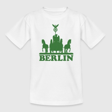 BERLIN QUADRIGA - Teenager T-Shirt