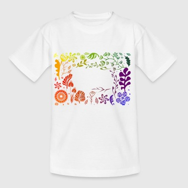 Go Rainbow - Teenager T-Shirt