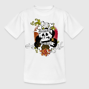 Mens' Shirt SpongeBob Skeleton - Teenager T-Shirt