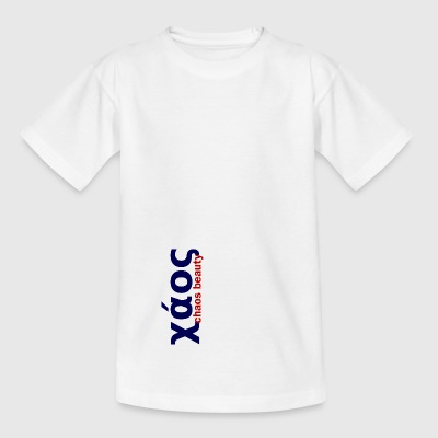 chaos in greek limited - Teenage T-shirt